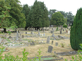 photo of Wellington Road (part 1) Cemetery